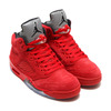 NIKE AIR JORDAN 5 RETRO UNIVERSITY RED/BLACK 136027-602画像