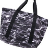 Supreme Ripple Packable Tote BLACK画像
