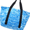 Supreme Ripple Packable Tote BLUE画像