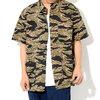 STUSSY Seersucker Safari S/S Shirt 111925画像