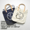 "CHESWICK ROAD RUNNER CANVAS TOTEBAG ""BEEP BEEP IN CIRCLE"" CH02527画像"