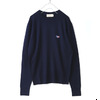 MAISON KITSUNE VIRGIN WOOL R-NECK PULLOVER KMM2750画像