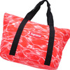 Supreme Ripple Packable Tote RED画像