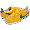 "NIKE CLASSIC CORTEZ NYLON PREM ""OREGON"" yellow ochere/gorge green-sail 876873-700画像"
