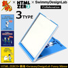 HTML ZERO3 × 銀魂 × Swimmy Design Lab Funny Mirror ACS210画像