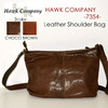 Hawk Company 7354 レザーショルダーバッグ画像