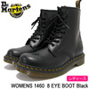 Dr.Martens WOMENS 1460 8 EYE BOOT Black R11821006画像