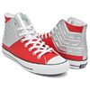 CONVERSE ALL STAR 100 ULTRASEVEN HI RED / SILVER 32961202/1CK821画像