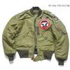 """Buzz Rickson's L-2 """"34th FIGHTER DAY SQ."""" BR13888画像"""