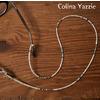 Colina Yazzie Lanyards Glass Holder BEIGE画像