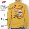 "CHESWICK ROAD RUNNER L/S T-SHIRT ""CALIFORNIA BEEP"" CH67806画像"