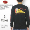 "INDIAN MOTORCYCLE L/S T-SHIRT ""INDIAN HEAD"" IM67737画像"