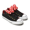 CONVERSE ALL STAR 100 MINNIE MOUSE RB OX BLACK 32892381画像