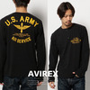 AVIREX US-COTTON HENRY NECK T-SHIRT 6173419画像