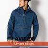 AVIREX TYPE BLUE CIRCLE STRETCH DENIM ANORAK 6172171画像