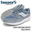 Saucony GRID 8500 MD BORO Blue Deni S70343-1画像