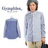 Gymphlex #J-0872 CRZ B.D Shirt -Stripe Crazy-画像