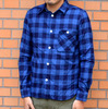 FIVE BROTHER インディゴチェックシャツ 151760画像