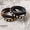 "YUKETEN × Tory Leather 1""Stds Belt画像"
