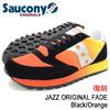 Saucony JAZZ ORIGINAL FADE Black/Orange S70248-1画像