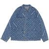 Supreme × LOUIS VUITTON Jacquard Denim Chore Coat INDIGO画像