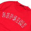 Supreme × LOUIS VUITTON Arc Logo Crewneck RED画像