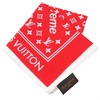 Supreme × LOUIS VUITTON Monogram Bandana RED画像