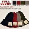 FULLCOUNT FISHERMAN'S RIB WATCH CAP 6859画像