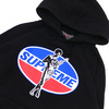 Supreme × HYSTERIC GLAMOUR Hooded Sweatshirt BLACK画像