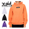 X-girl × Russell BOX LOGO SWEAT HOODIE 5175202画像