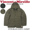 Vincent et Mireille STETCHLESS DOWN JACKET VM72SD202M画像