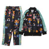 adidas Originals MINI RODINI GYM CAT SST TRACKSUIT Multicolor/Bahia Mint BQ4287画像
