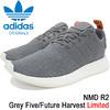 adidas NMD R2 Grey Five/Future Harvest Originals BY3014画像