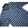 IKE BEHAR #MF1306LB L/S B.D. FLANNEL CHECK SHIRTS/indigo画像