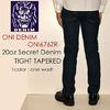 ONI DENIM 20oz Secret Denim Tight Tapered ONI-676ZR画像