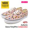 VANS × PEANUTS Authentic Dance Party/Pink VN-0A38EMQQ3画像