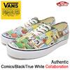 VANS × PEANUTS Authentic Comics/Black/True White VN-0A38EMQQ2画像