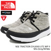 THE NORTH FACE NSE TRACTION CHUKKA LITE WP II Mix Grey/White NF51793-MW画像