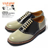 GLAD HAND × REGAL SADDLE-SHOES -GRAY/BLACK-画像