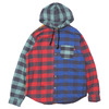 Supreme Hooded Buffalo Plaid Flannel Shirt MULTI画像