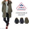 PYRENEX Lady's GRENOBLE JACKET Long-length Down Jacket画像