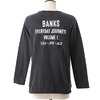 BANKS FAME L/S TEE SHIRT ALTS0017画像