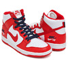 NIKE SB ZOOM DUNK HIGH PRO UNIVERSITY RED / UNIVERSITY RED 854851-661画像