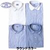 BAGGY 長袖 オックスフォード ラウンドカラーシャツ画像