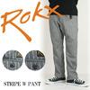 ROKX STRIPE W PANT RXMF7223画像
