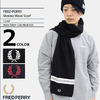 FRED PERRY Merino Wool Scarf C2107画像