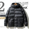 CAL O LINE × NANGA SHIGA DOWN CLASSIC PINANACLE DOWN JACKET CL172-083画像