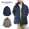 Gymphlex J-1260TUF Men's Stand Collar Down Jacket画像