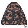 DOPE WORLDWIDE COACHES JACKET CAMO画像