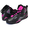 NIKE JORDAN TRUE FLIGHT GG black/dark grey-deadly pink 342774-009画像
